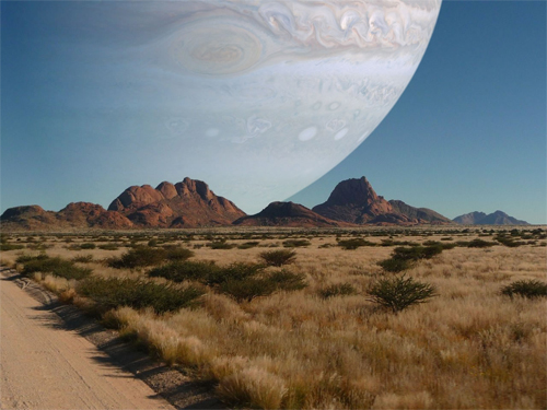 If Jupiter Was The Same Distance As The Moon
